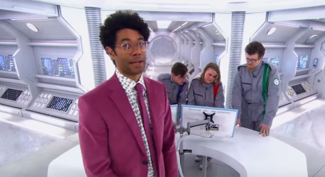 Crystal Maze contestant suffers epic fail after getting 'stuck' on a planet