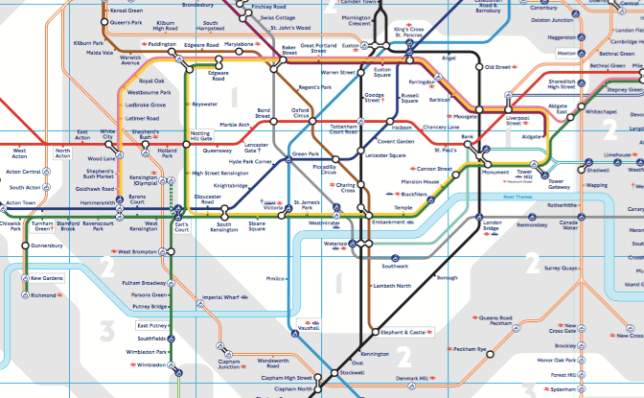 Where is Parsons Green? Map of London tube station where ...