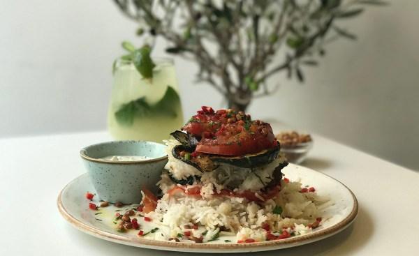 Vegetable Makloubeh