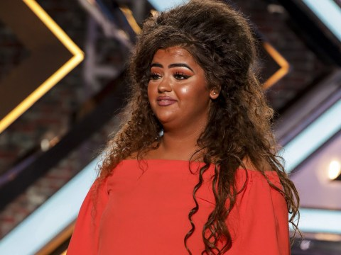X Factor hopeful Scarlett Lee blames her shocking 'orange look' on the show's camera after trolls mocked her