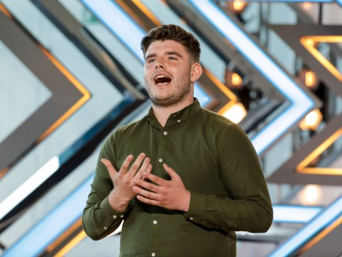 The X Factor 2017: Lloyd Macey's nan tries to win Simon Cowell over with a fish finger sandwich