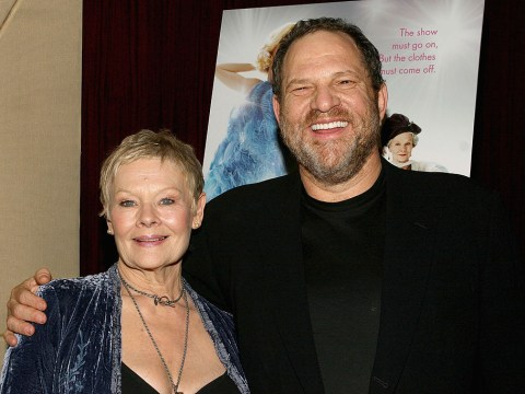 Judi Dench – who has a tattoo for Harvey Weinstein – calls sexual harassment allegations 'horrifying'