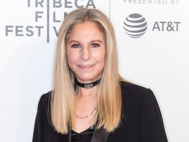 singer/songwriter Barbra Streisand