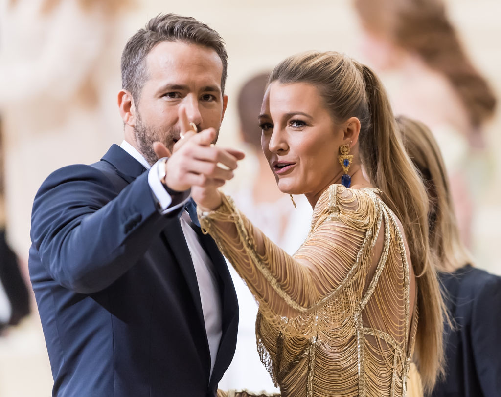 Blake Lively celebrates wedding anniversary by roasting the heck out of Ryan Reynolds