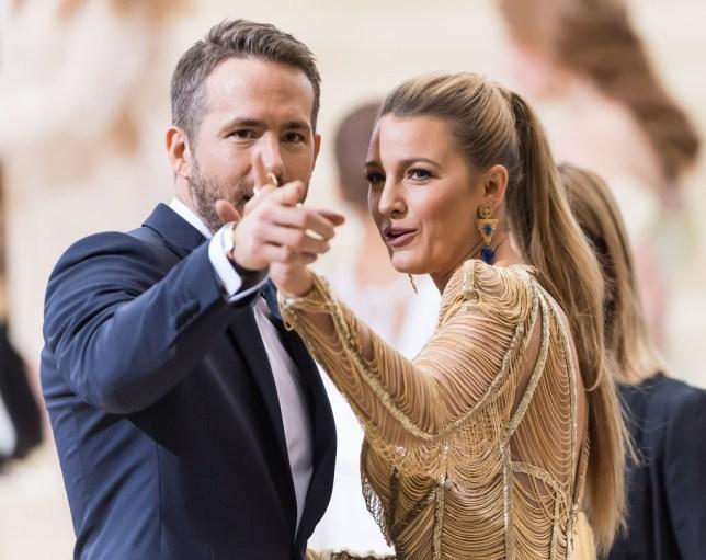 Ryan Reynolds And Blake Lively Wedding.Blake Lively And Ryan Reynolds Celebrate Wedding Anniversary