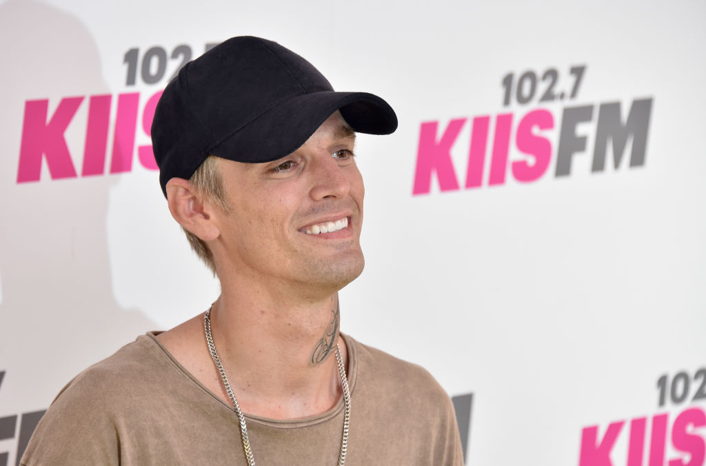 Aaron Carter leaves rehab two weeks after checking in to address 'several legal and personal matters'