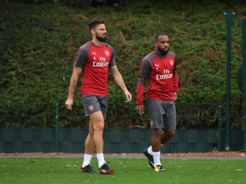 Olivier Giroud remains ahead of Alexandre Lacazette in France pecking order – and proves why
