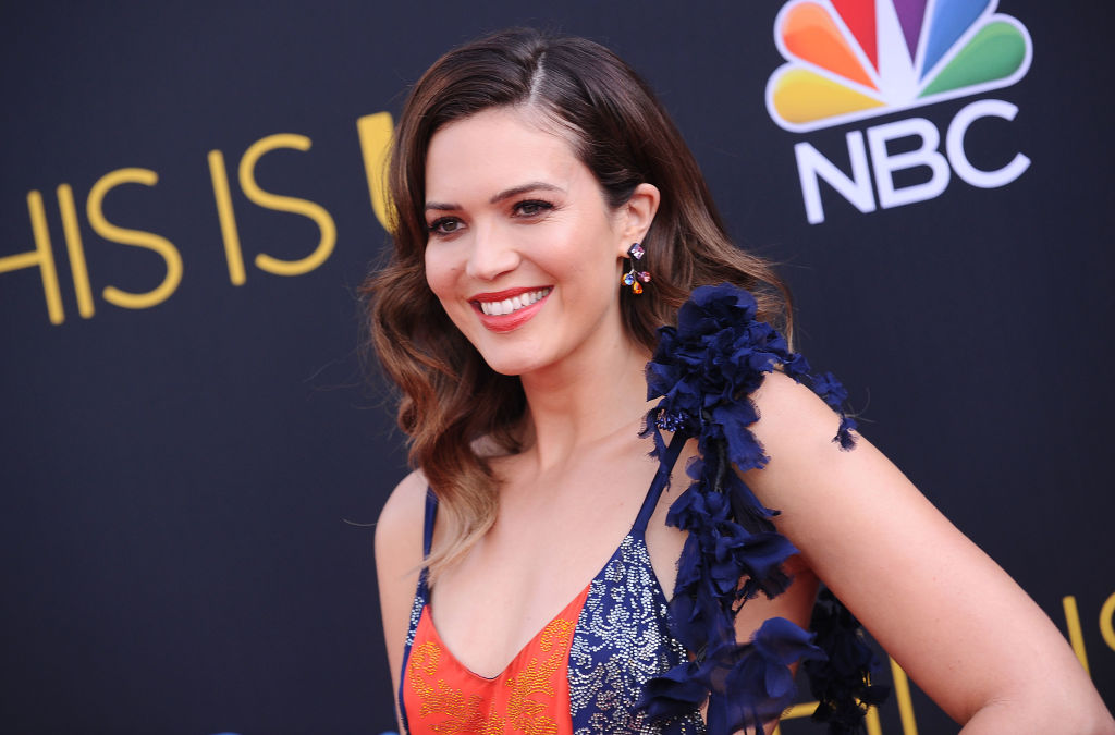 Mandy Moore discusses 'extraordinarily close' family after her mum left her dad for another woman and her two brothers came out as gay