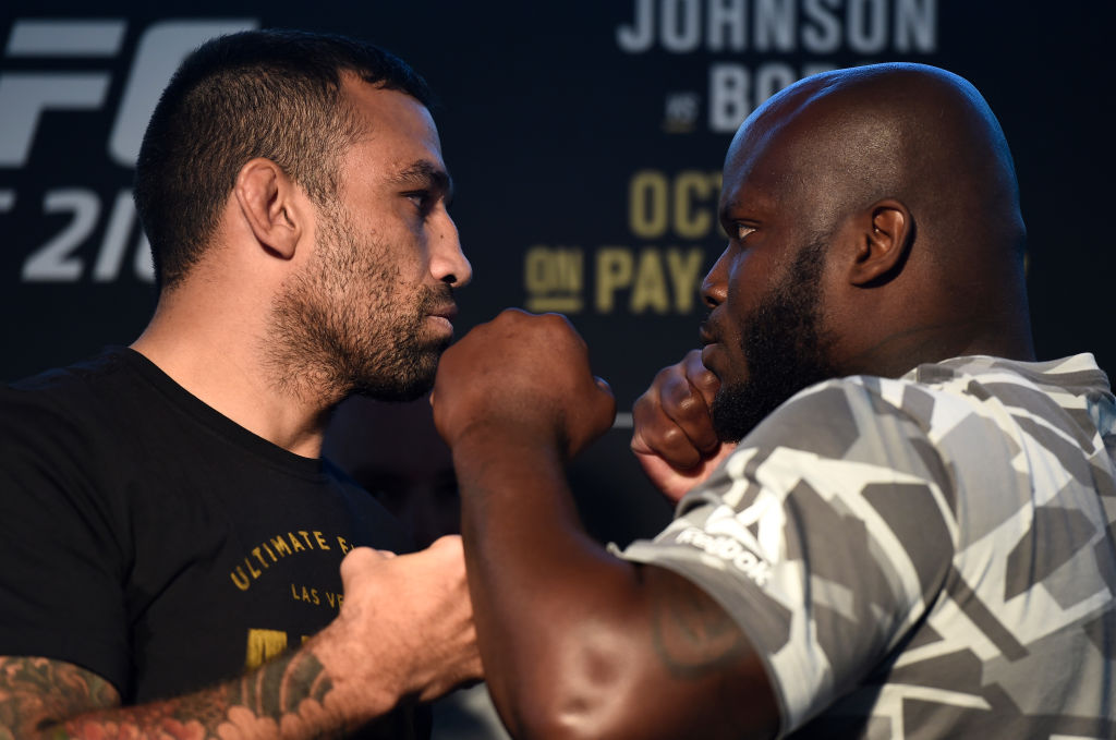 UFC 216 Fabricio Werdum vs Derrick Lewis: Crowd pleasing heavyweights clash for title shot