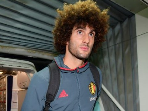 Manchester United star Marouane Fellaini out for two weeks with knee injury, confirms Belgium FA
