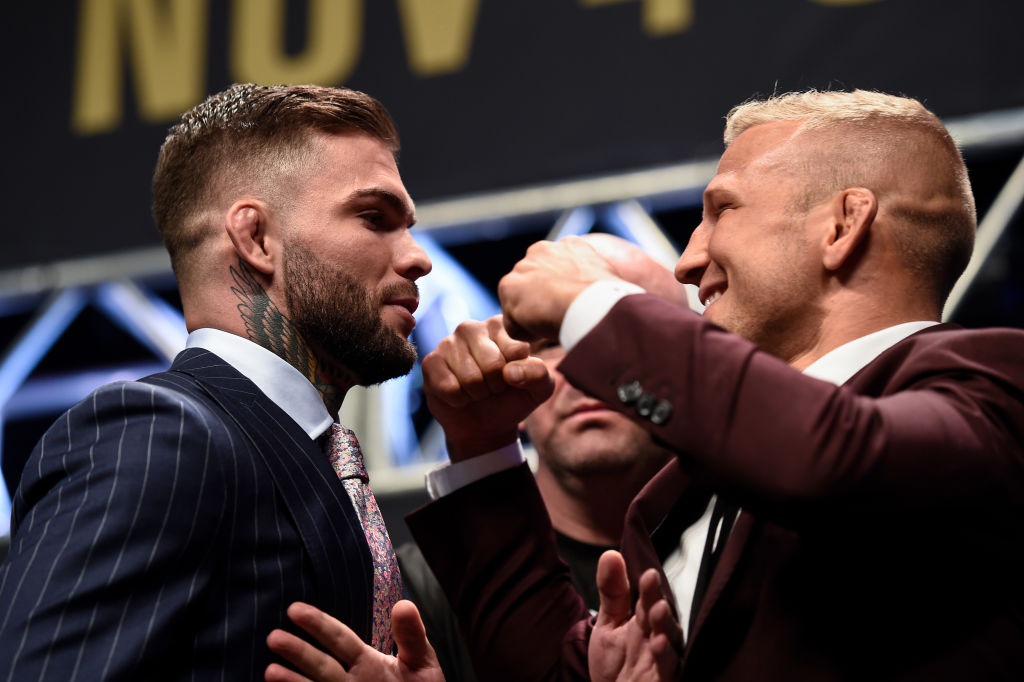 UFC champion Cody Garbrandt questions why T.J. Dillashaw keeps changing gyms