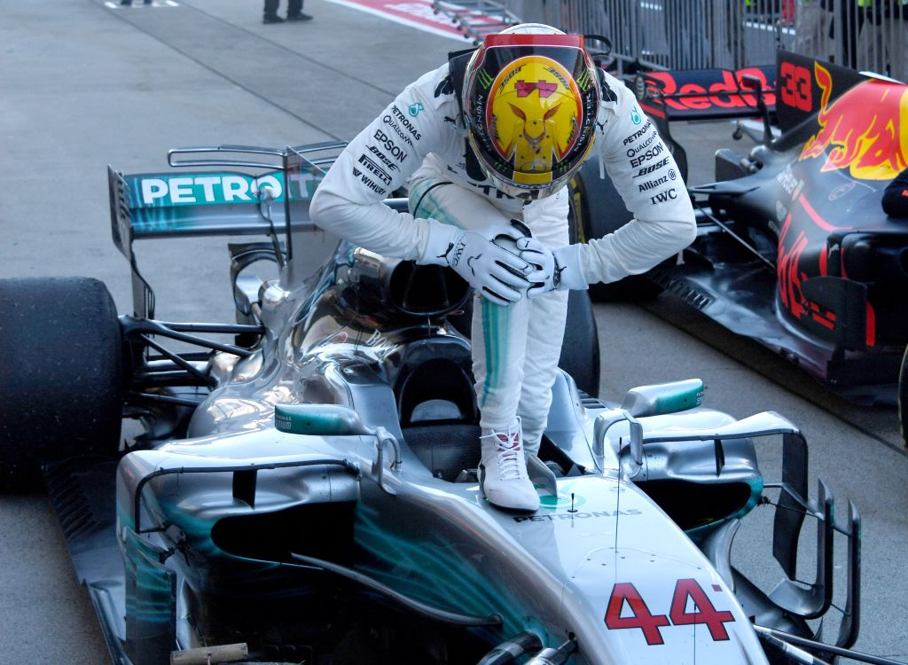 Lewis Hamilton on verge of F1 championship – but he may have to be patient