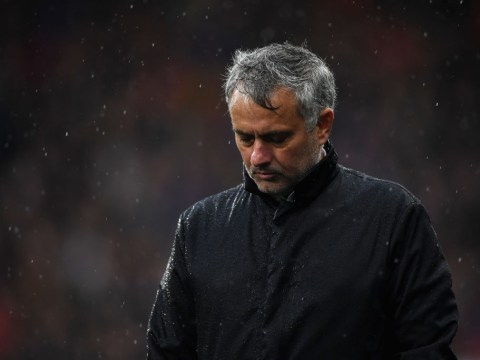 Jose Mourinho blames windy conditions during Manchester United's loss to Huddersfield