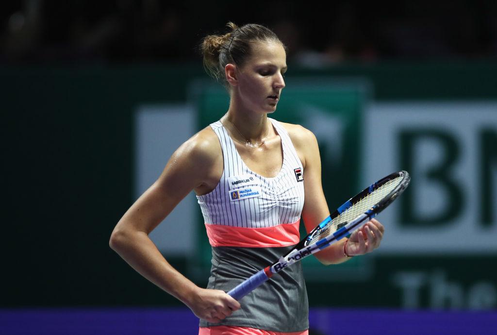 Martina Navratilova hits out at Karolina Pliskova after Jelena Ostapenko WTA Finals loss