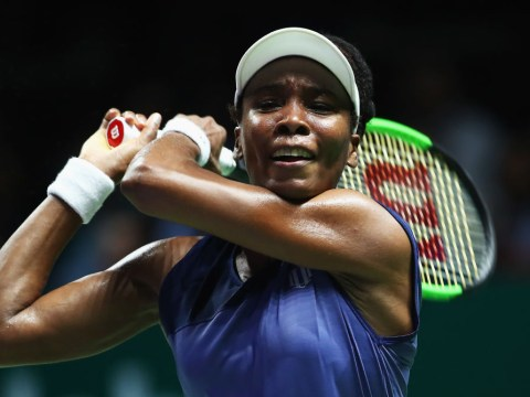 Venus Williams joins Karolina Pliskova and Caroline Wozniacki in the WTA Finals last-four after Garbine Muguruza win