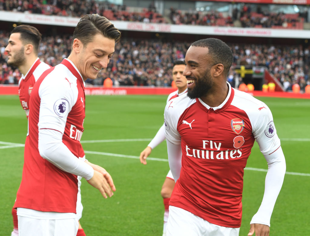Mesut Ozil explains why Alexandre Lacazette could be as successful as Karim Benzema