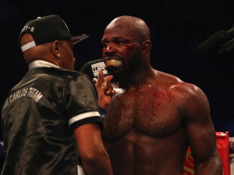 Carlos Takam insists referee should not have stopped the fight against Anthony Joshua