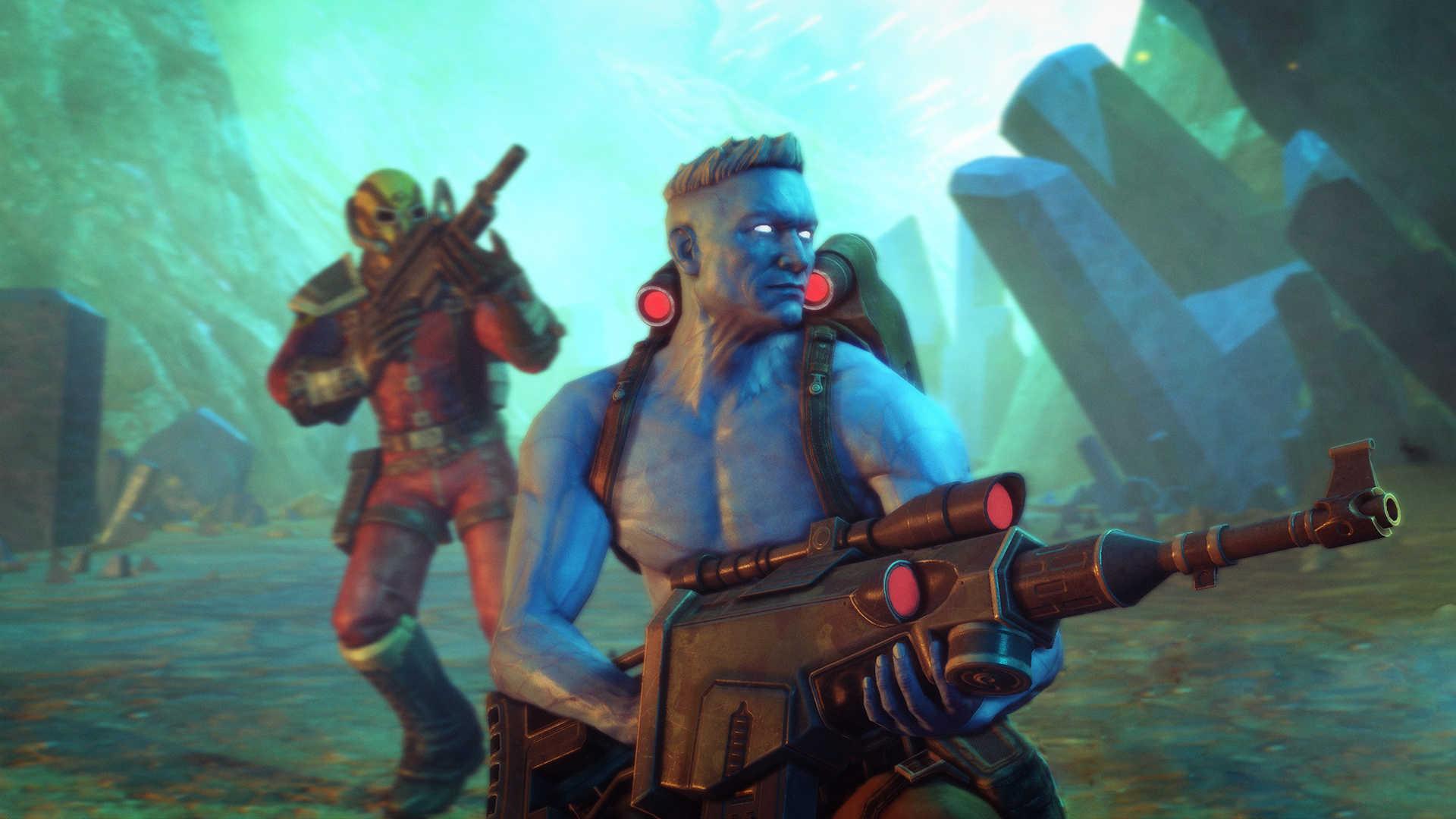 Rogue Trooper Redux (PS4) - he's always feeling blue