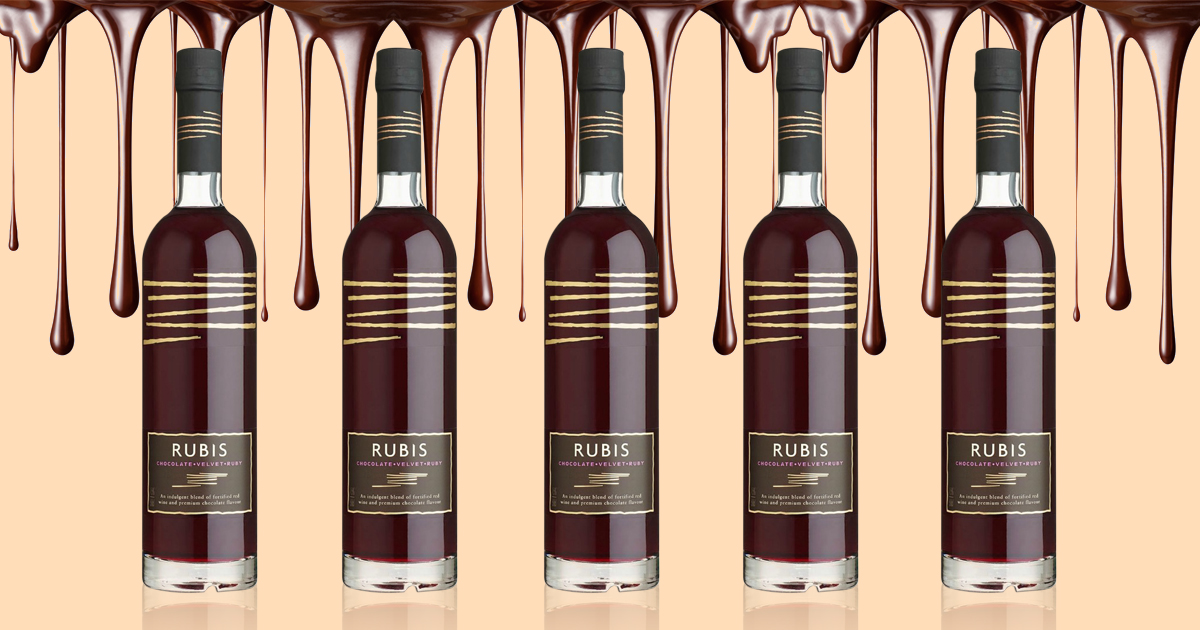 Aldi will be selling chocolate wine from next month