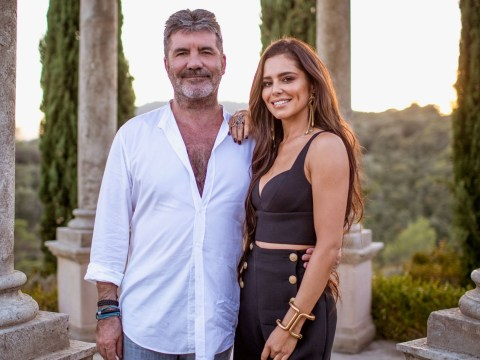 Simon Cowell mocks Cheryl on X Factor for calling her son Bear as pair reunite for Judges' Houses episode