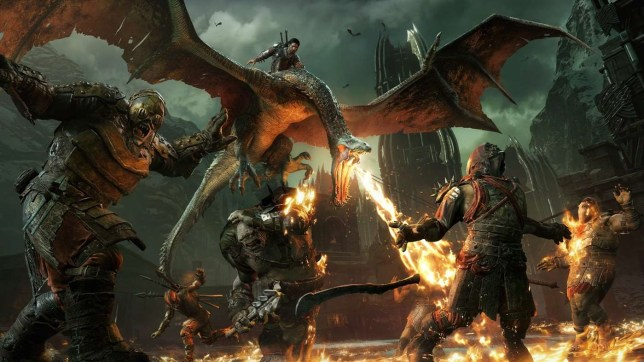 Middle-Earth: Shadow Of War (XO) - it can dragon a bit