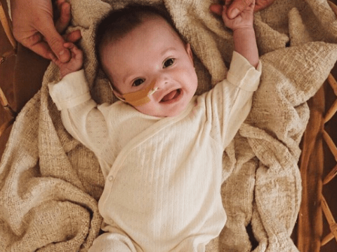 Instagram star is crowdfunding to try and help sick baby with rare condition