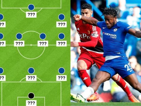 Michy Batshuayi doesn't deserve a place in the Chelsea XI to face Bournemouth