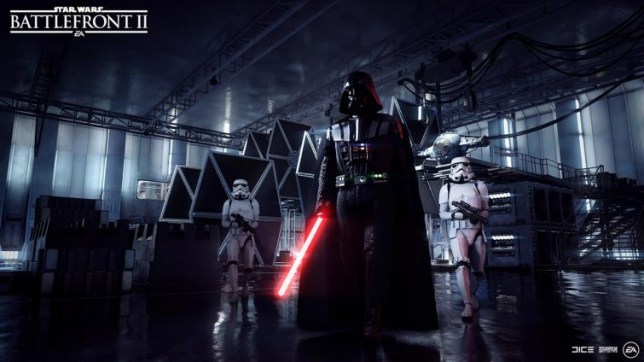 Star Wars: Battlefront II - you knew he'd be in it