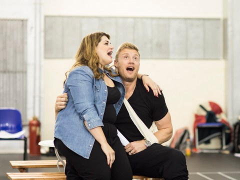 First look at Freddie Flintoff, Natasha Hamilton and Sam Bailey as they join Fat Friends The Musical cast