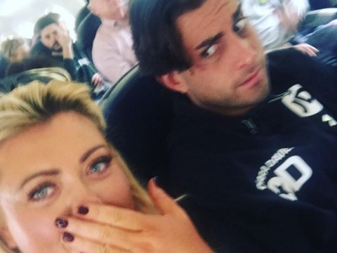 Gemma Collins says she's 'feeling the magic' with Arg again after trip to Dublin