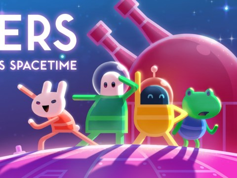 Lovers In A Dangerous Spacetime Switch review – four-player romance
