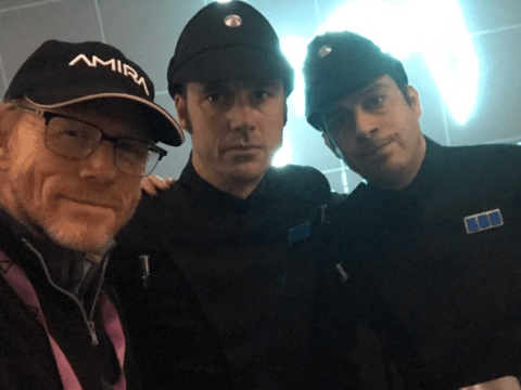 Ron Howard wraps Solo: A Star Wars Story after giving fans a sneak peek of new movie
