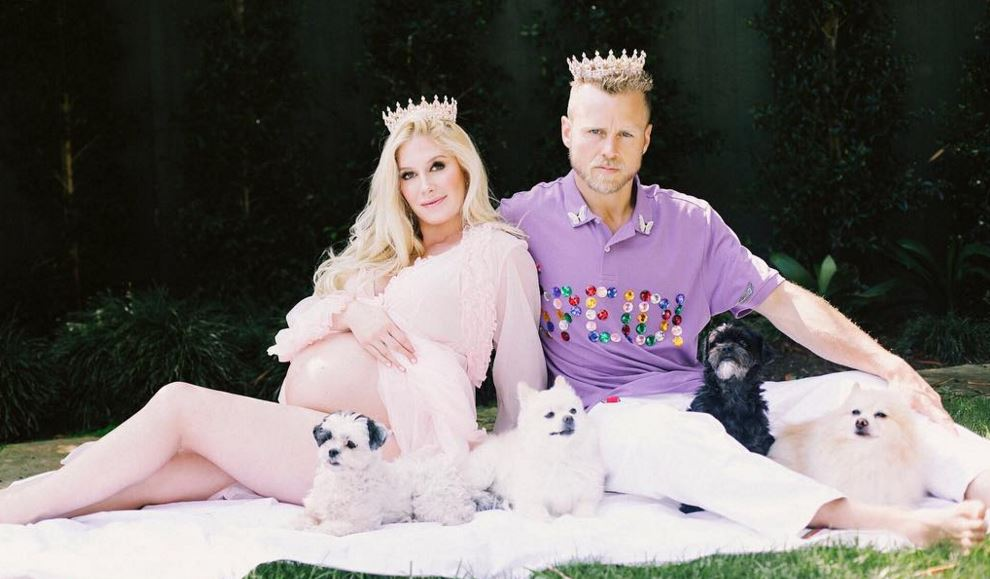 Heidi Montag and Spencer Pratt welcome baby boy Gunner Stone using £20,000 worth of crystals during birth