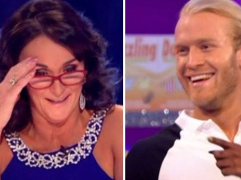 Shirley Ballas blunders as she tells Jonnie Peacock he has a 'spring in his step'