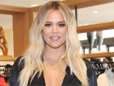 Khloe Kardashian wears all black for first public appearance since 'pregnancy news'