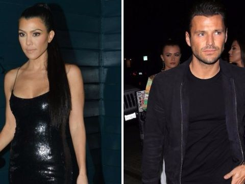 Mark Wright lives it up in Hollywood as he parties with Kourtney Kardashian at Pretty Little Thing party