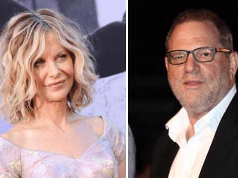 Harvey Weinstein 'pleasured himself during private screening of Meg Ryan's first nude scene'