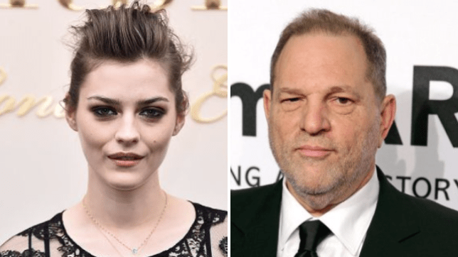 Strike star Amber Anderson says Harvey Weinstein propositioned her