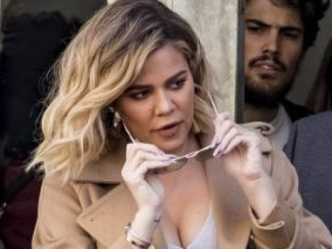 Khloe Kardashian faces low turnout as she's welcomed by near empty street at Good American pop up store