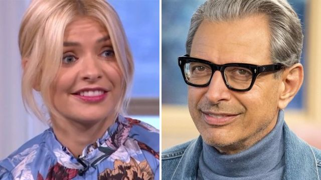 'Are those flowers?' Jeff Goldblum accused of 'flirting' with Holly Willoughby