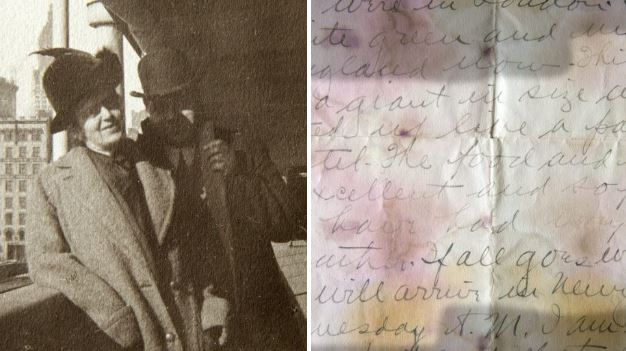 Titanic victim's eerie letter to mum unearthed after 105 years