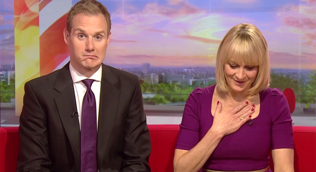 Louise Minchin accidentally swore on BBC Breakfast and it was all a bit awkward