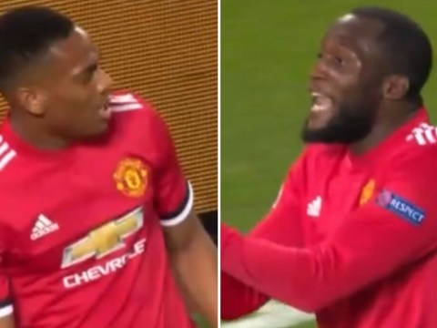 The Manchester United way: Romelu Lukaku applauds Anthony Martial's ambition after mistake in attack