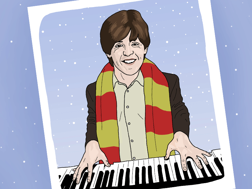 Shut up, Wonderful Christmastime by Paul McCartney is the coolest Christmas song ever