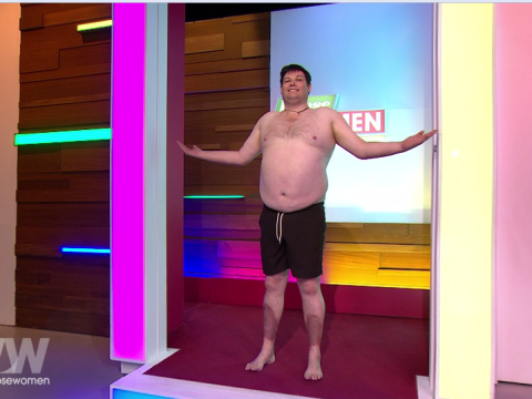 The Chase's Mark 'The Beast' Labbett takes on bodyshamers as he strips on live TV