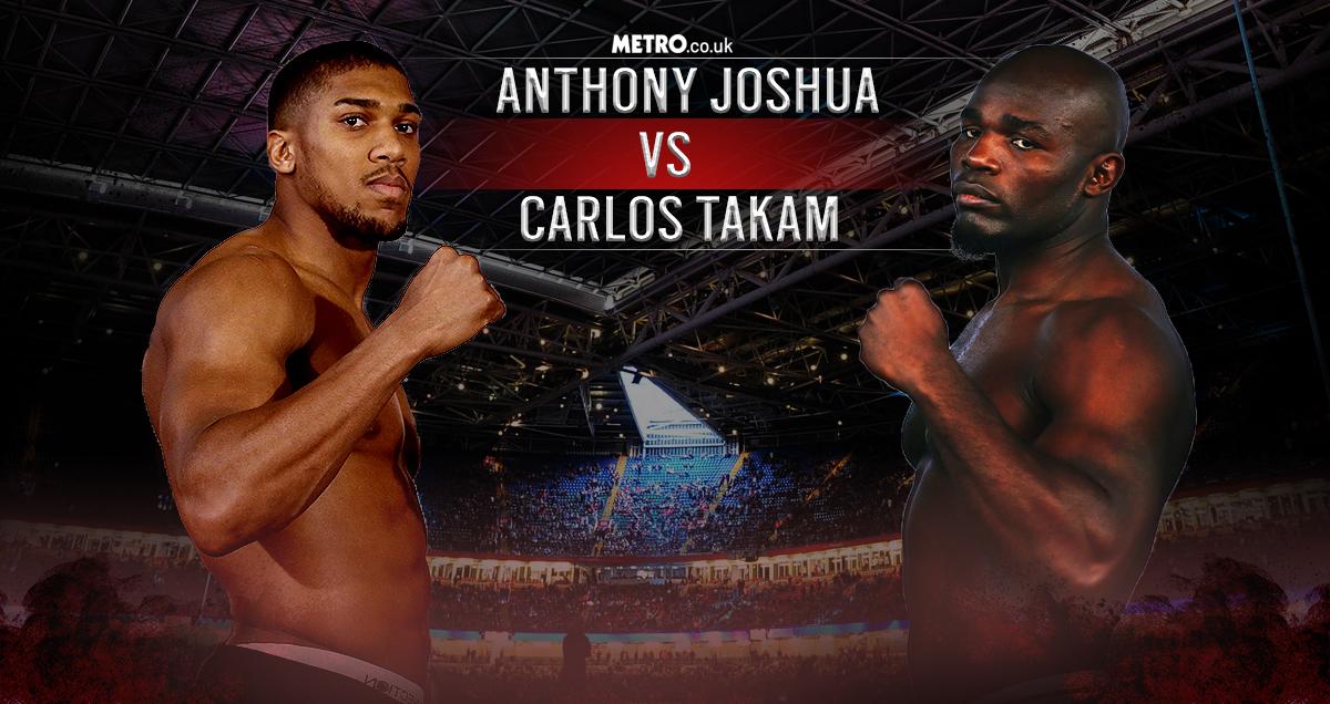 Anthony Joshua vs Carlos Takam LIVE: The latest from Cardiff's Principality Stadium