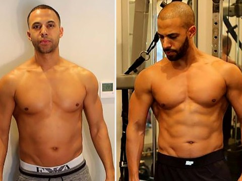 Marvin Humes shows off ripped body transformation in topless snaps