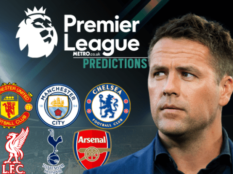 Michael Owen's Premier League predictions, including Liverpool v Man Utd, Chelsea and Arsenal