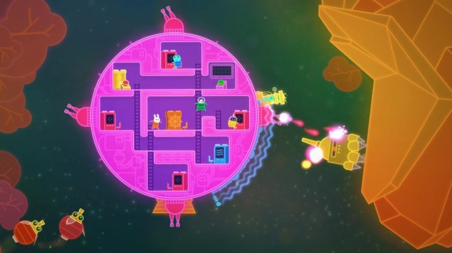 Lovers In A Dangerous Spacetime (NS) - ever tried a foursome?