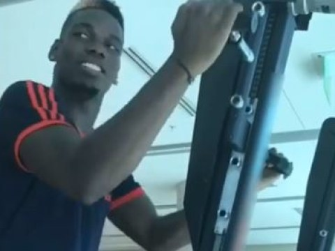 Paul Pogba posts fresh injury update ahead of Champions League tie for Manchester United